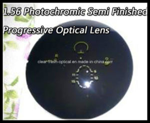 1.56 Photochromic Semi Finished Progressive Optical Lens