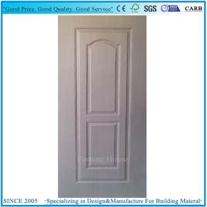 Door Skin Plywood Molded 3 Panel with EV Teak Veneer pictures & photos