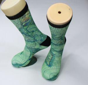 Wholesale Custom Sublimation Print Socks pictures & photos