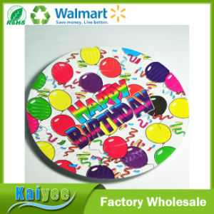 Custom Different Size and Pattern Environmental Protection Disposable Paper Plate pictures & photos