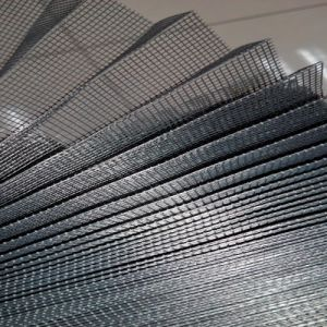 15mm Polyester Pleated/ Plisse Mesh pictures & photos