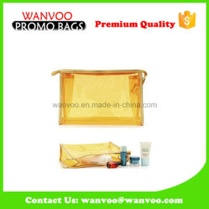 Cheap Glitter Personalized Plastic PVC Jelly Cosmetic Bag pictures & photos