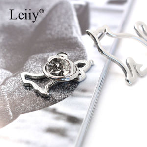 Women Simple Metal Hollow Cat Dog Brooch Pin Fashion Jewelry Brooch pictures & photos