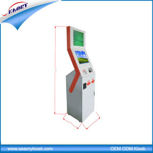 Standing LCD Touch Screen with Self Service Information Interactive Kiosk pictures & photos