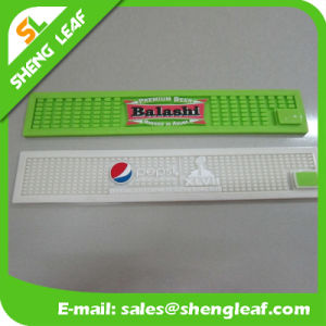 Gift Items Printing Logo Rubber Beer LED Wide Bar Mat pictures & photos
