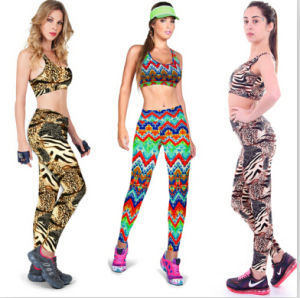 2015 New Fashion Women Sport Yoga Pants and Bras (46897) pictures & photos