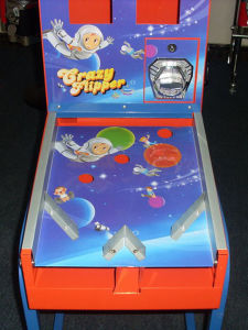 Double Canister Gumball Pinball Vending Machine (TR902) pictures & photos