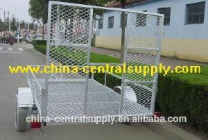 Manufacturer and Factory Made Sale Galvanized 2.5X1.35m ATV Trailer (CT0089M) pictures & photos