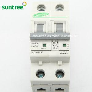 2 Pole DC800V DC Solar Miniature Circuit Breaker pictures & photos