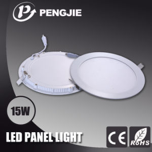 15W White Aluminum LED Panel Light for Indoor Ceiling Light pictures & photos