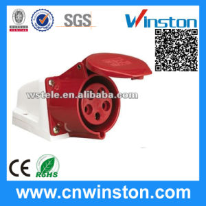 215/225 IP44 Waterproof Industrial Connector with CE pictures & photos