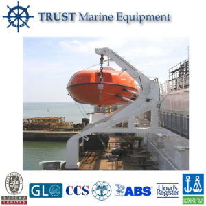 China Manufacturers Supply Rescue Boat Platform Davit pictures & photos