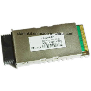 3rd Party X2-Er Fiber Optic Transceiver Compatible with Cisco Switches pictures & photos