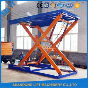 Garage Vertical Auto Transport Lift Scissor Lift pictures & photos