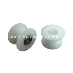 Natural Rubber Coated Covered Nylon Plastic V-Belt Pulley/ Wheel/ Roller pictures & photos