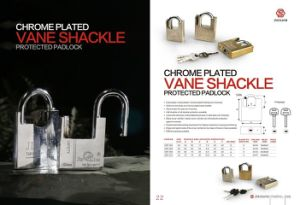 Wrapped Steel Padlock, Enwrapped Column and Girder Padlock (AL-412) pictures & photos
