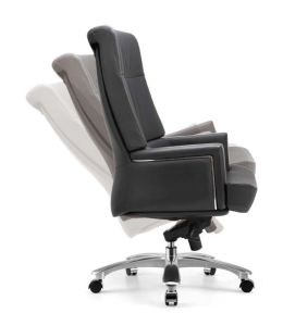 Hot Selling Classic Design High Quality Cow Leather Furniture Office Chair pictures & photos