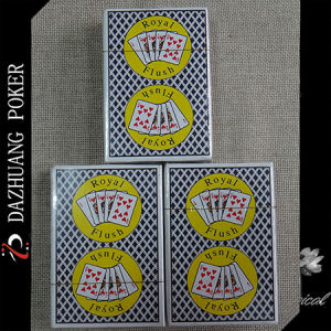 Royal Flush Customized Poker Cards for Casino pictures & photos