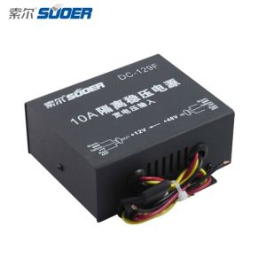 Suoer DC 24V to DC 12V DC Converter 10A Power Supply Transformer (DC-129F) pictures & photos