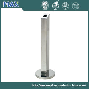 Outdoor Smoke Stand Stainless Steel Cigarette Receptacle pictures & photos