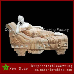 Multi Colour Marble Gift Granite Statue for Home Decoration pictures & photos