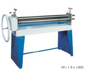 W11 30X3200 Metal Sheet Steel Plat Mechanical 3-Roller Symmertical Rolling Machine pictures & photos