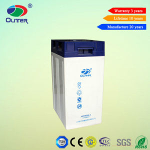 2V 500ah Long Life Gel Battery for Solar Power System pictures & photos
