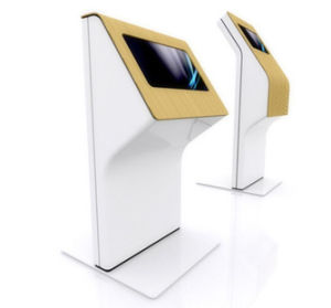 LCD Display Stand with Locked Enclosure pictures & photos