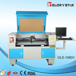 80W Glc-1080V Laser Cutting Machine with CCD Video Camera pictures & photos