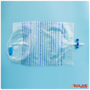Adult Drainage Urine Bag with T Type Valve pictures & photos