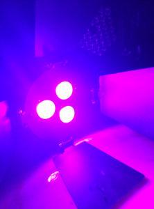 New Mini PAR Can 3PCS 9W LED PAR Light pictures & photos