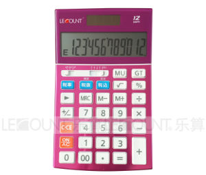 12 Digits Dual Power Desktop Calculator with Optional Tax Function (LC22639) pictures & photos