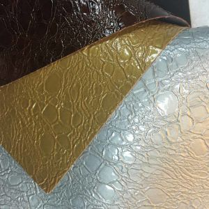 PVC Glossy Leather for Bag, Sofa pictures & photos