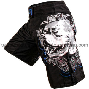 Plain Fabric Crossfit MMA Shorts (ELTMMJ-47) pictures & photos