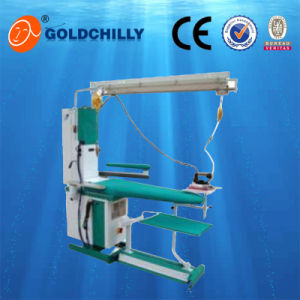 Commercial Laundry Equipment Multifunctional Suction Blast Steam Blowing Ironing Table pictures & photos