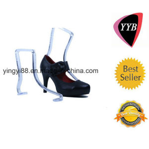 Plexiglass Clear Shoe Store Display pictures & photos