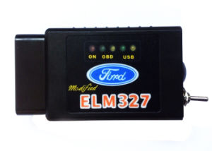 Elm 327 Bluetooth OBD2 Can Bus Scanner Obdii Wireless Elm Pic18f25k80 pictures & photos