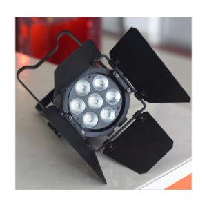 7PCS 15W RGBWA UV LED PAR Light pictures & photos