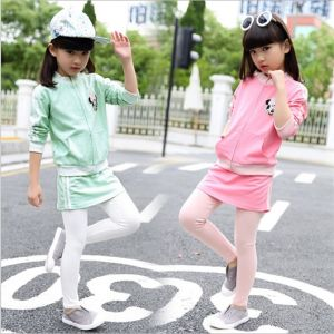 2015 Autumn Hot Sales Korean Style Two-Piece Long-Sleeved Children′s Casual Sports Suit pictures & photos