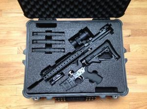 Custom Foam Packing for Guns pictures & photos