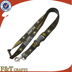 Wholesale High Quality Satin Paracord Heated Transfer Print Sublimation Lanyard pictures & photos