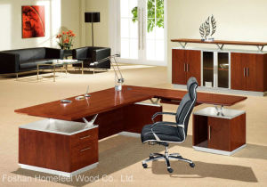 Wooden Furniture Office Table Modern Manager Executive Table (HF-MH09248) pictures & photos