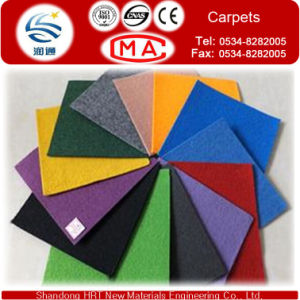 One Time Carpets by Nonwoven Geotextile 100% Polyester for Exhibition and Wedding pictures & photos