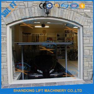 Two Platforms Hydraulic Cylinder Scissor Garage Storage System pictures & photos