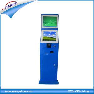 Interactive Digital Information Barcode Scanner Kiosk Terminal Machine pictures & photos