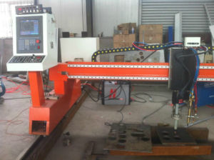 China Big Szie CNC Gantry Flame Plasma Cutting Machine pictures & photos
