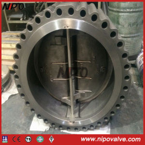 Cast Steel Lug Type Double Plate Swing Check Valve pictures & photos