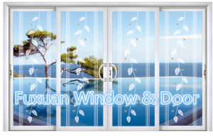 Aluminum Glass Sliding Glass Door for Balcony pictures & photos