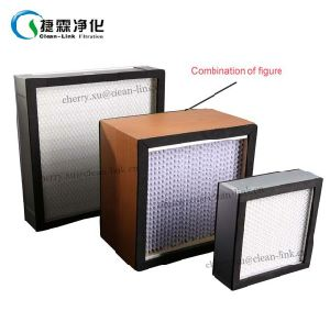 Supplier High Efficiency Glass Fiber Mini Pleat HEPA Filter H13 pictures & photos