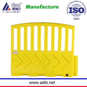 Yellow Plastic Traffice Fence Barriers Vf (9511) pictures & photos